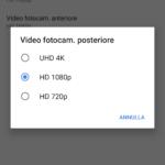 Risoluzione Video Dual Camera
