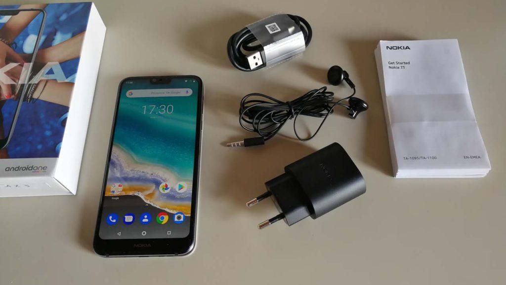 Nokia 7.1 - Confezione di vendita