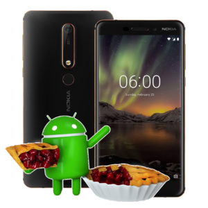 Nokia 6.1 con Android 9 Pie
