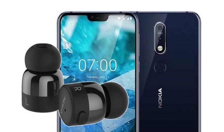 Nokia 7.1 + Nokia True Wireless Earbuds