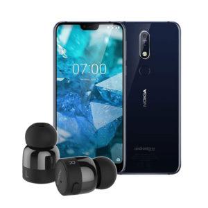 Nokia 7.1 - Nokia True Wireless Earbuds