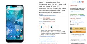 Nokia 7.1 - Offerta Amazon