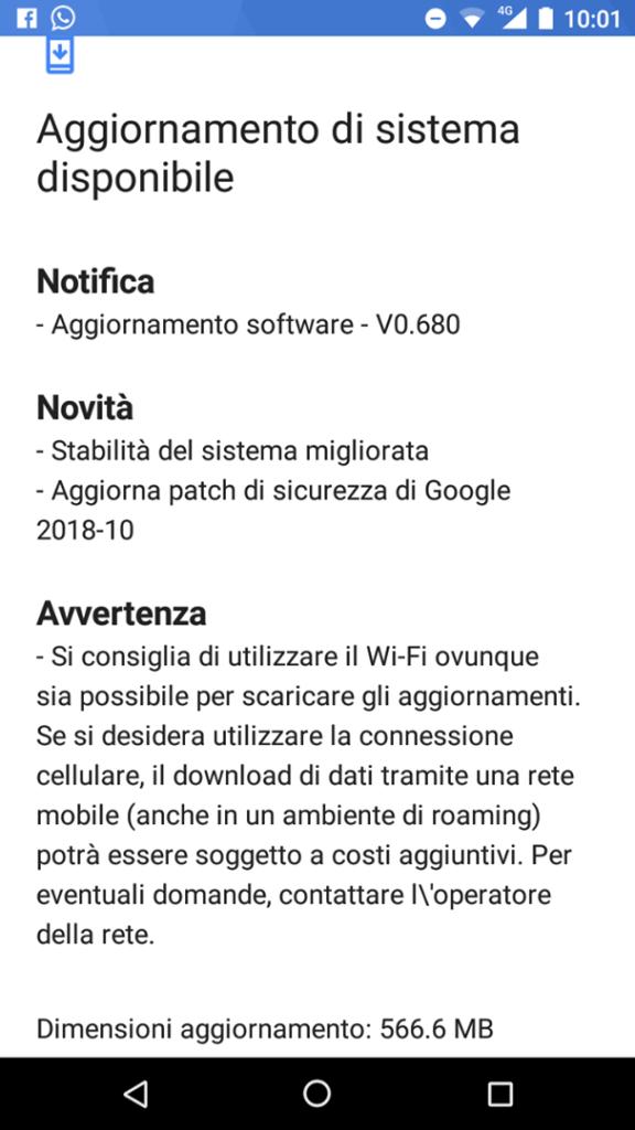 Update Software v0.680