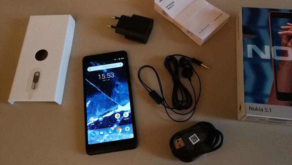 Nokia 5.1 - Confezione di vendita