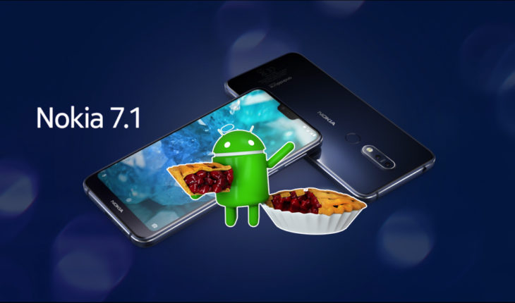 Android 9 Pie su Nokia 7.1