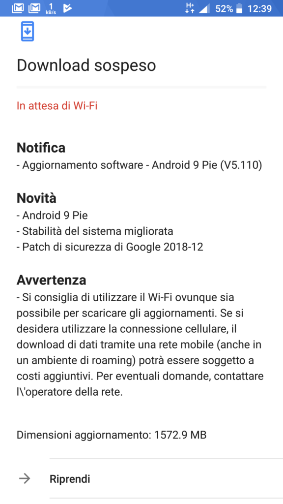 Android 9 Pie - Nokia 8