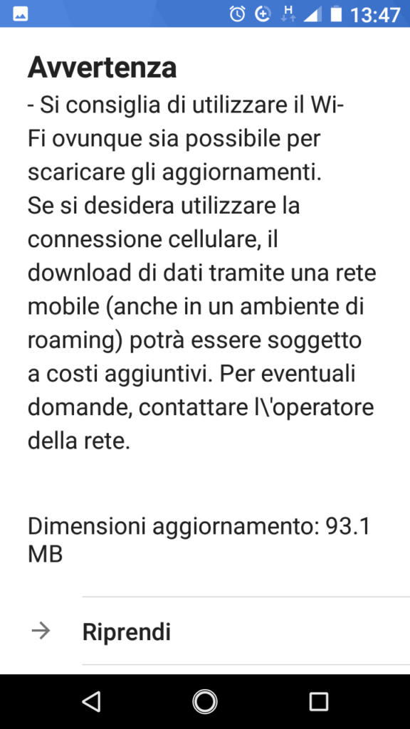 Patch dicembre 2018 - Nokia 2