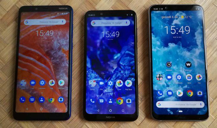 Nokia 3.1 Plus - Nokia 5.1 Plus - Nokia 8.1