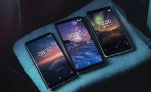 Nokia 8 Sirocco - Nokia 7 Plus - Nokia 6.1