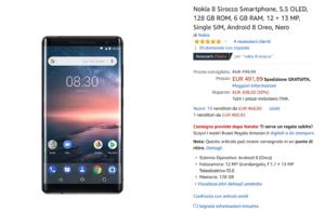 Offerta Nokia 8 Sirocco