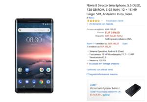 Nokia 8 Sirocco - Offerta Amazon