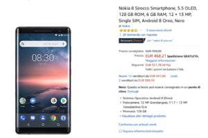 Nokia 8 Sirocco in offerta