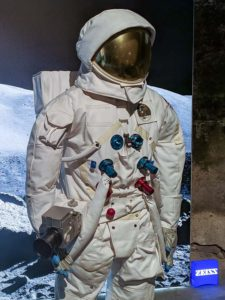 Un manichino astronauta