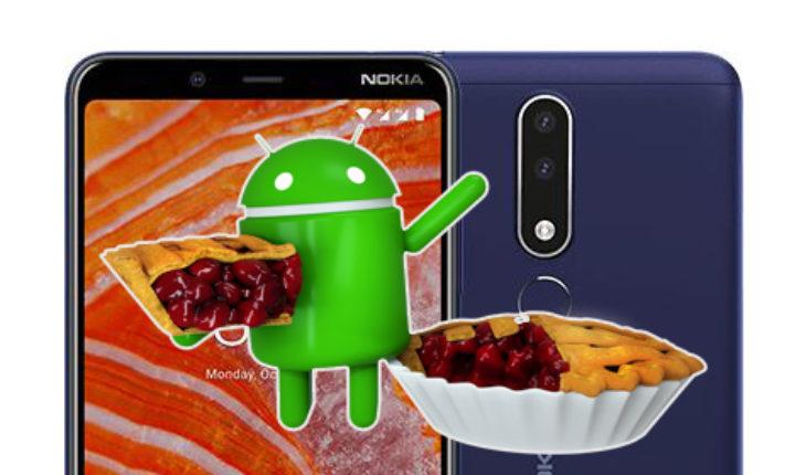 Android 9 Pie su Nokia 3.1 Plus