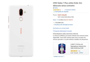 Nokia 7 Plus Bianco DUAL Sim