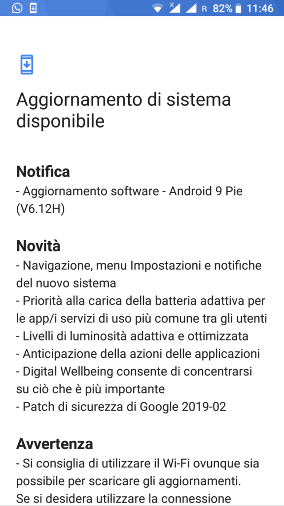 Nokia 6 - Android 9 Pie