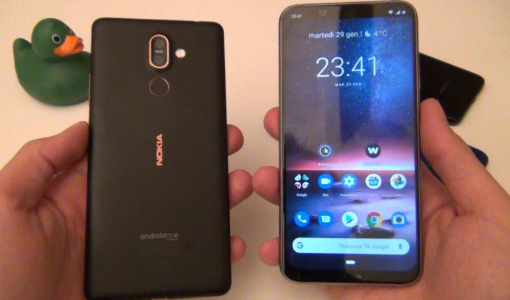 Nokia 8.1 e Nokia 7 Plus