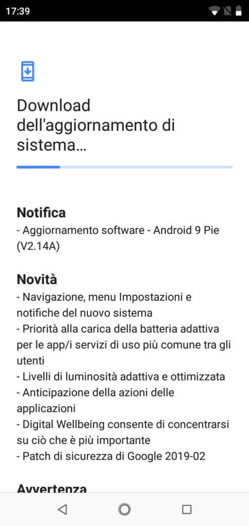 Android 9 Pie - Nokia 5.1 Plus