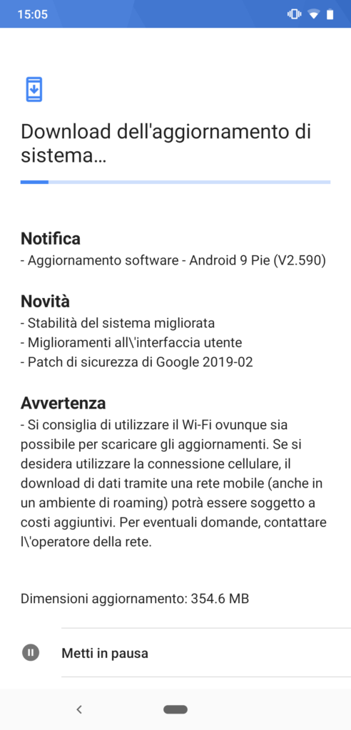Android 9 Pie v2.590 - Nokia 8.1