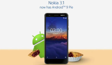 Android 9 Pie - Nokia 3.1