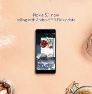 Nokia 5.1 - Android 9 Pie