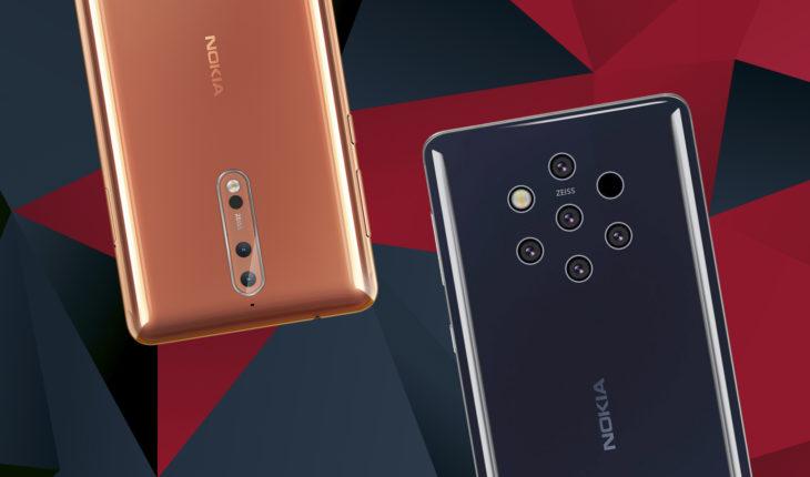 Nokia 8 e Nokia 9 PureView