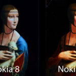 Nokia 8 vs Nokia 9 - Comparazione visiva display
