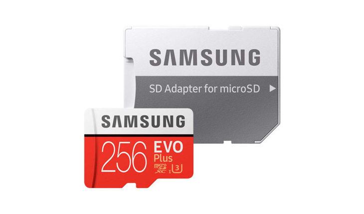 micro SD Samsung EVO Plus