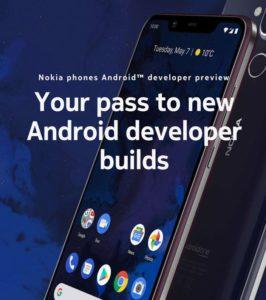 Android Q - Nokia 8.1