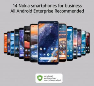 Nokia Android Enterprise Recommended