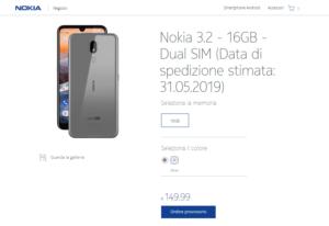 Nokia 3.2 su Nokia Mobila Shop