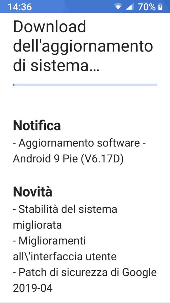 Update v6.17D - Nokia 6