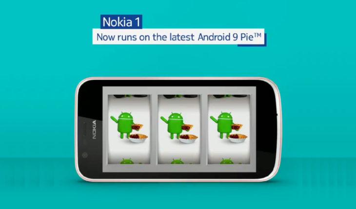 Android 9 Pie per Nokia 1