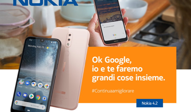 Nokia 4.2 - Ok Google