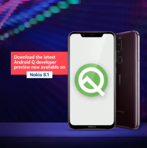 Beta 5 Android Q - Nokia 8.1