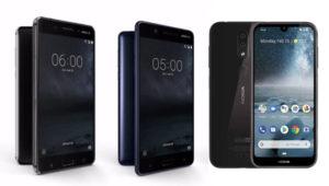 Nokia 6, Nokia 5 e Nokia 4.2