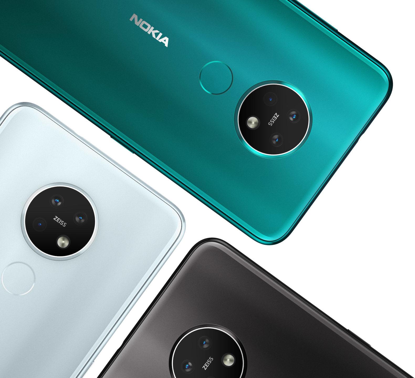 Nokia 7.2 riceve le patch di Ottobre 2020, il Nokia 1 quelle di Settembre 20 e una nuova build di Android 10