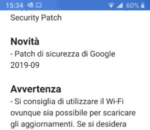 patch di sicurezza 09-2019