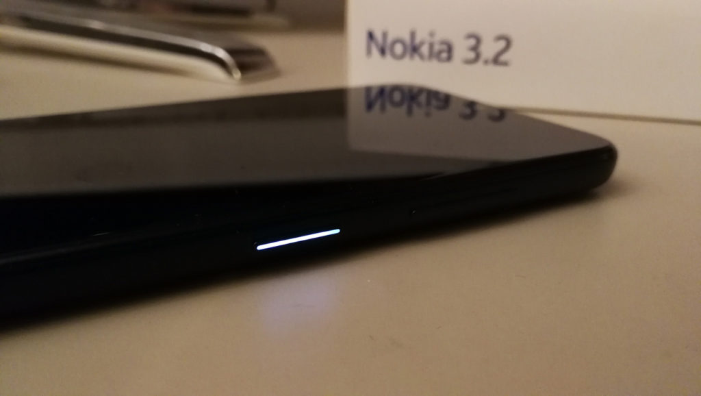 Nokia 3.2 - LED di Notifica