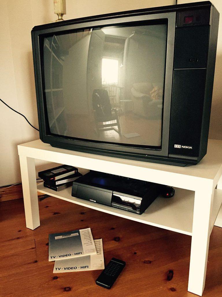 TV Nokia (sopra) e videoregistratore Nokia (sotto)