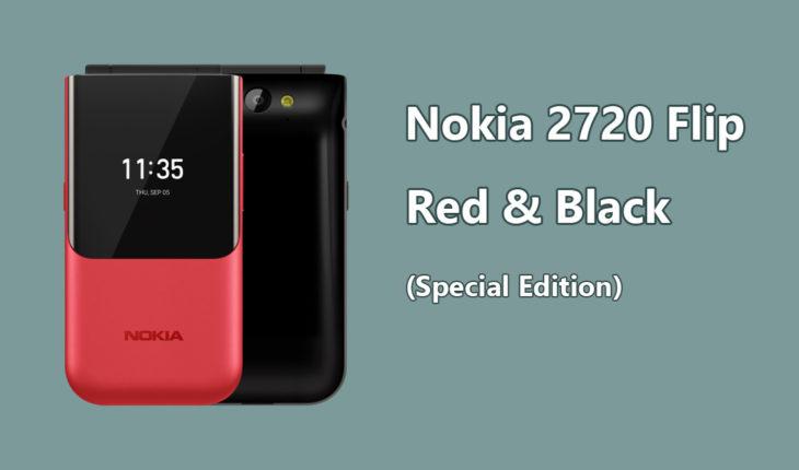 Nokia 2720 Flip rosso