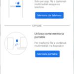 Configurazione micro SD