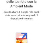 Ambient Mode - Configurazione