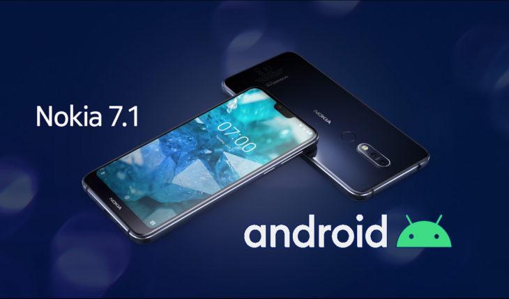 Android 10 - Nokia 7.1