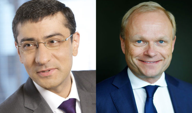 Rajeev Suri e Pekka Lundmark