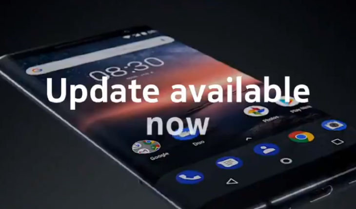 Nokia 8 Sirocco - Android 10