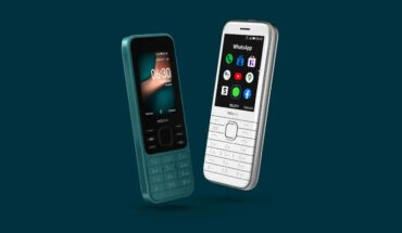 Nokia 6300 (a sinistra) e Nokia 8000 (a destra)
