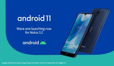 Android 11 su Nokia 3.2