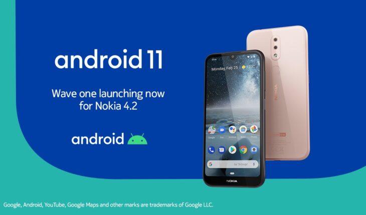 Android 11 per Nokia 4.2