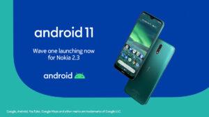 Android 11 su Nokia 2.3
